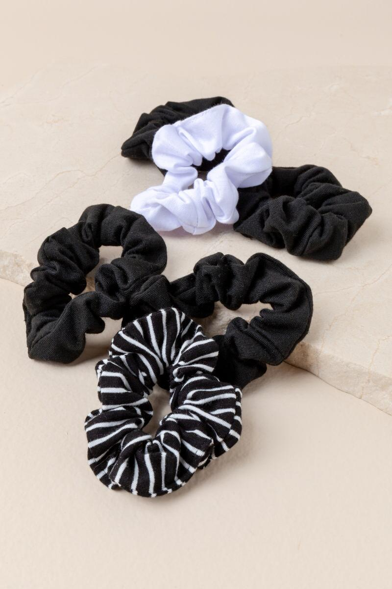 Bellamy Jersey Scrunchie Set