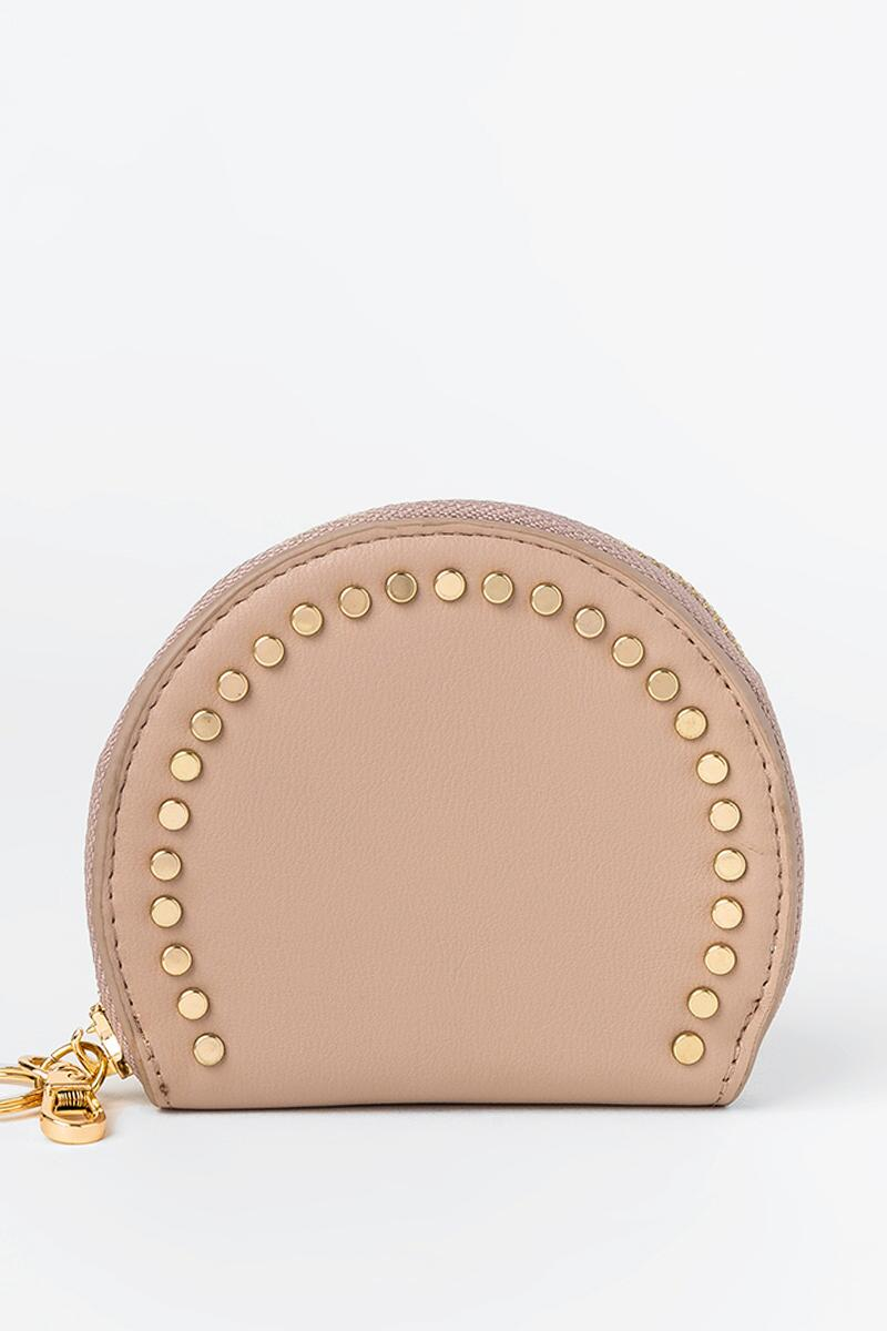 Payton Studded Coin Pouch-sand-cl