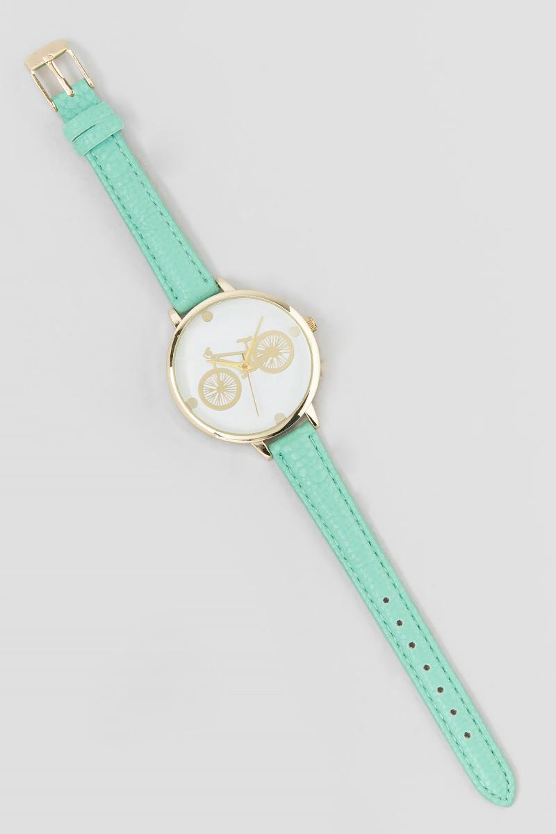 Bicycle Watch-  mint-clalternate