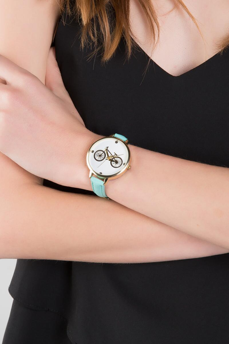 Bicycle Watch-  mint-clmodel