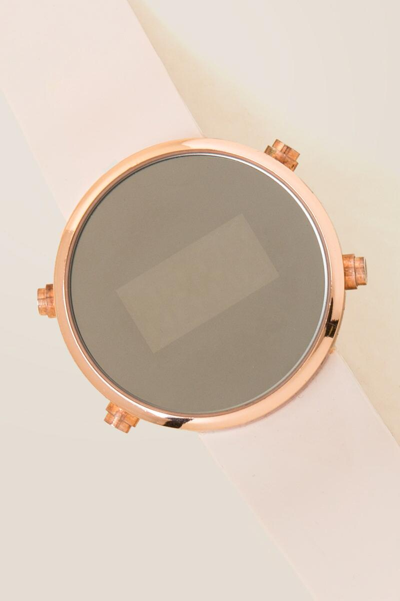 Ellum Rose Gold Digital Watch