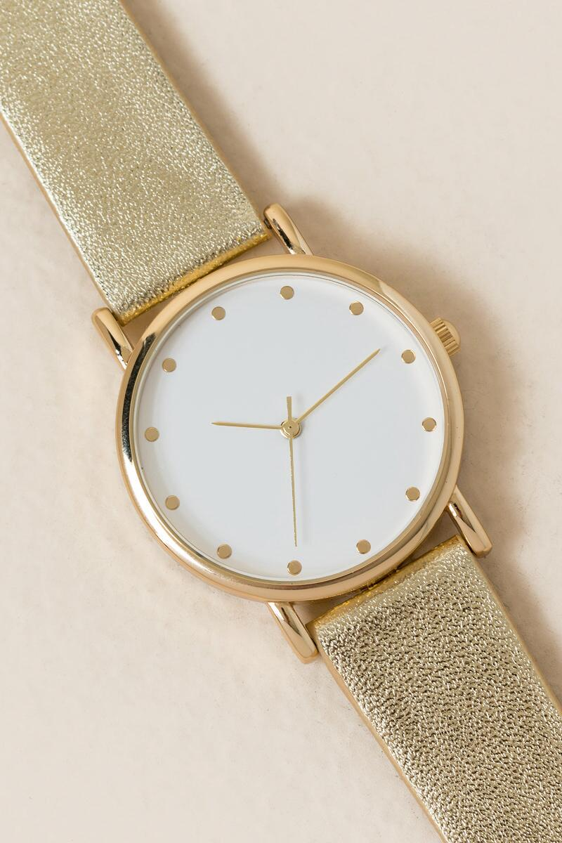 Eloise Gold Watch-  gold-cl