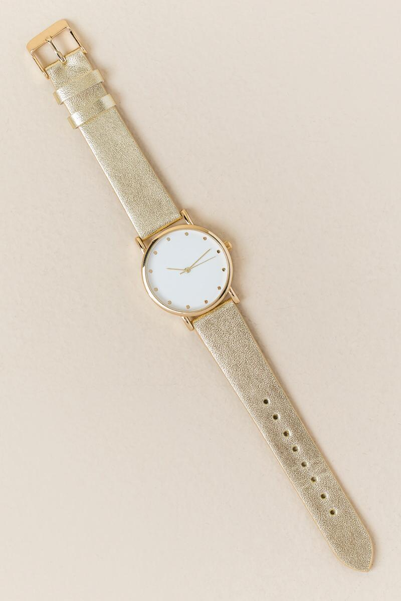 Eloise Gold Watch-  gold-clalternate