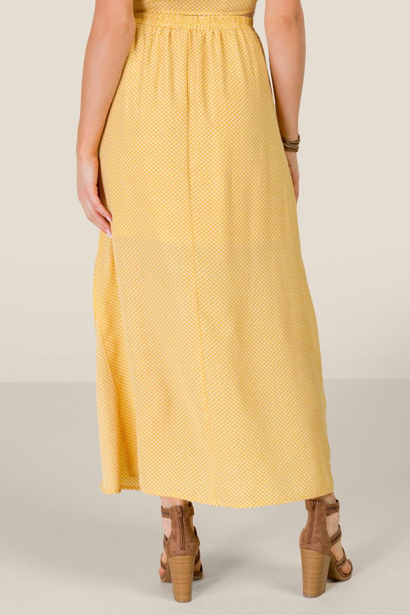 Madison Button Front Maxi Skirt-  suns-cl2