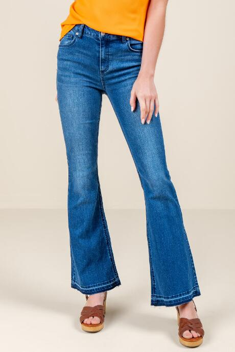 Megan High Rise Flare Jeans
