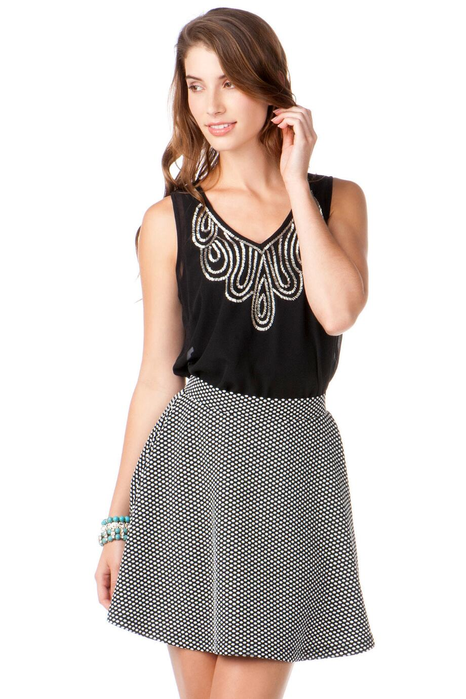 Millbrook Polka Dot Skirt