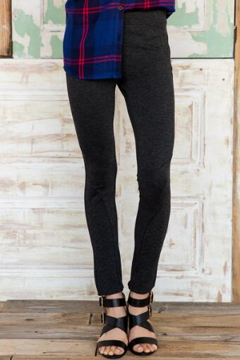 Layla Quilted Heather Ponte Pants