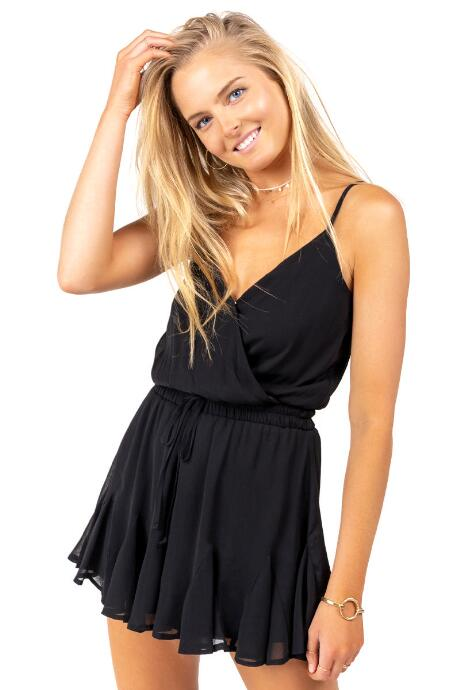 Kennedy Ruffled Romper