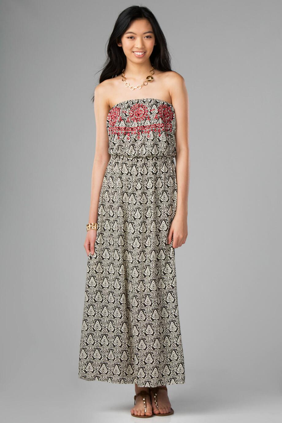Merrimac Printed Maxi Dress