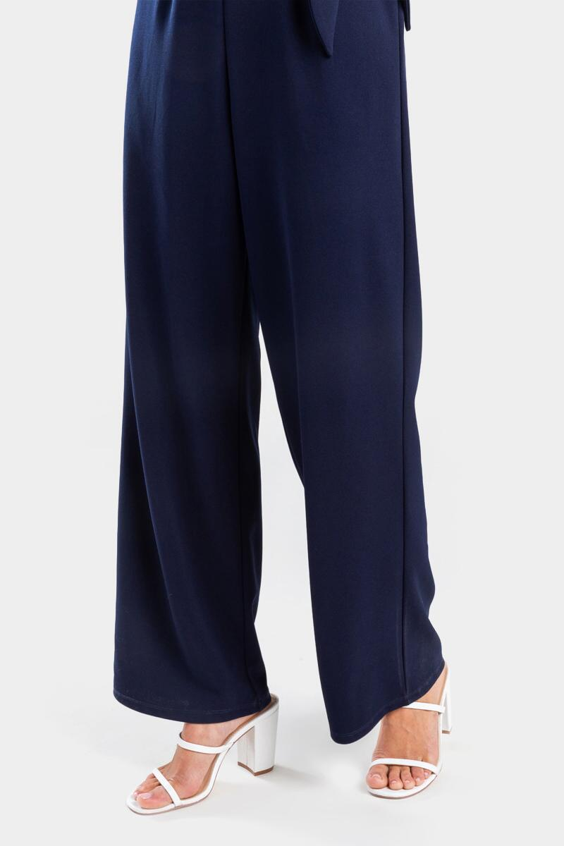 Kathleen Strapless Jumpsuit-  navy-cl4