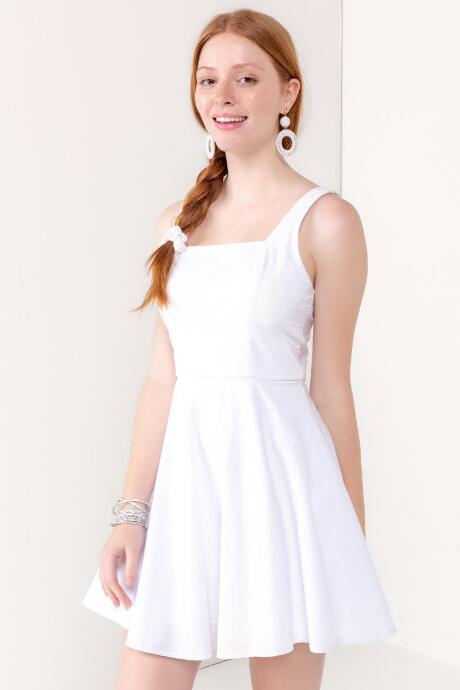 8e3a5ffd4db Ana Cross Back Fit   Flare Dress