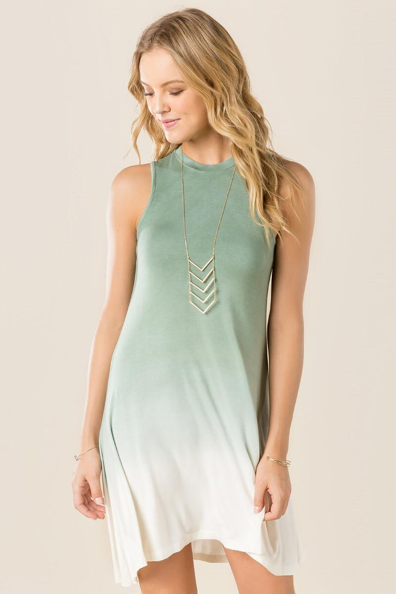 Katara Ombre Shift Dress