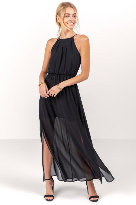 Flawless Solid Maxi Dress