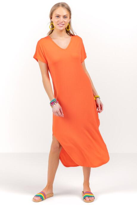 Piper V-Neck Knit Maxi Dress