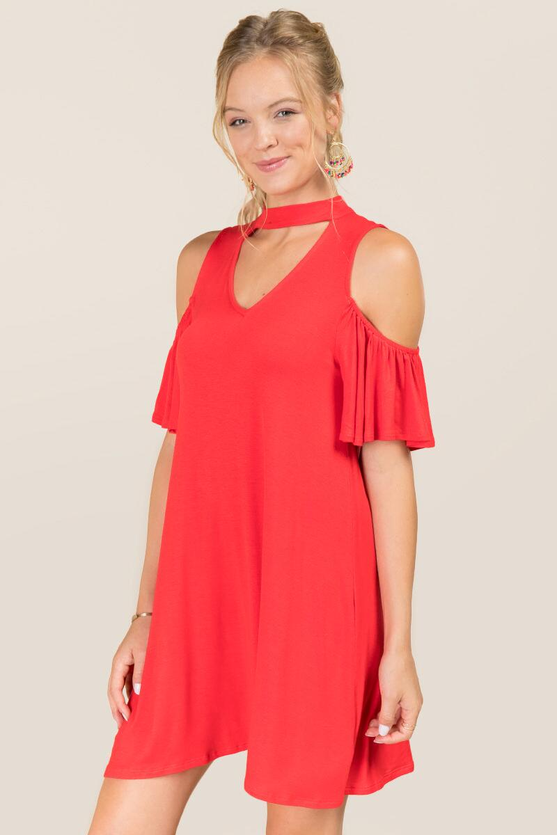 Jensen Cold Shoulder Gigi Dress