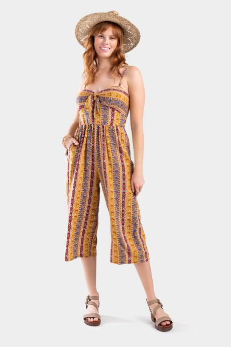 Adonna Printed Jumpsuit - Multi