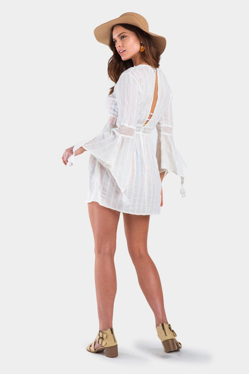 Ares Ruffle Crochet Swim Cover-Up-ivry-cl 3