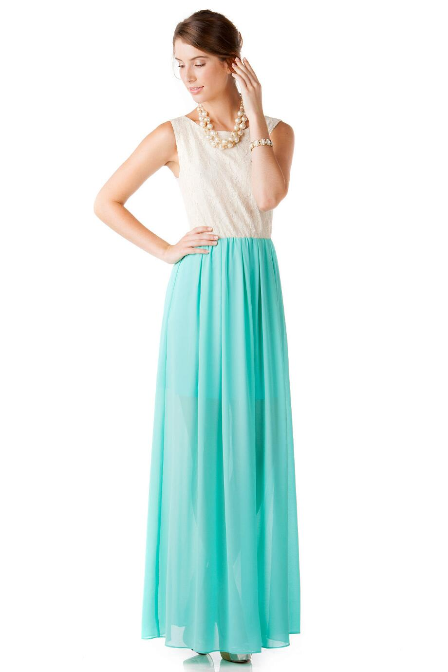 Murrell Chiffon Maxi Dress