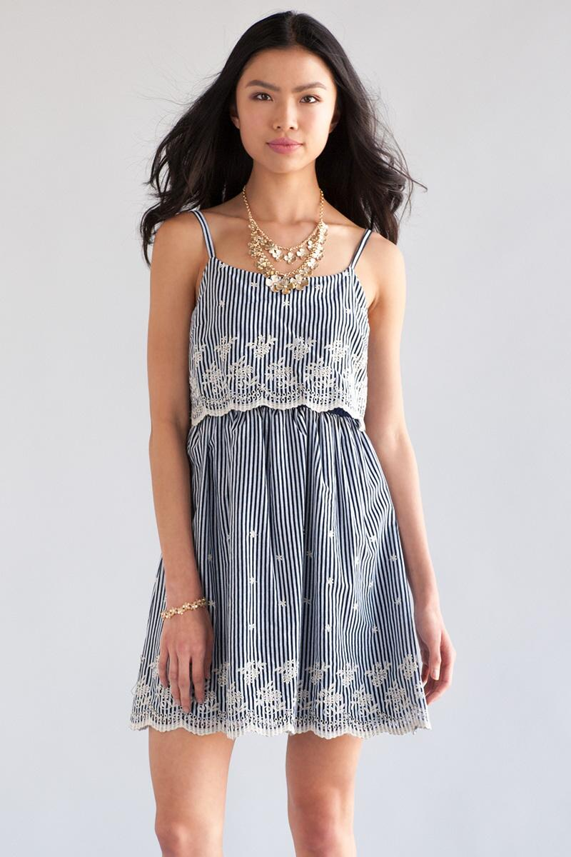 Briarwood Striped Dress
