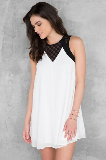 Breanna Lace Inset Dress