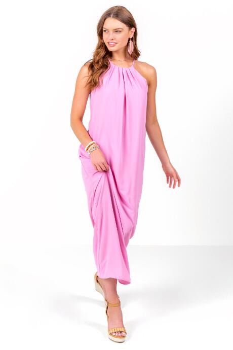 Charlize Maxi Shift Dress