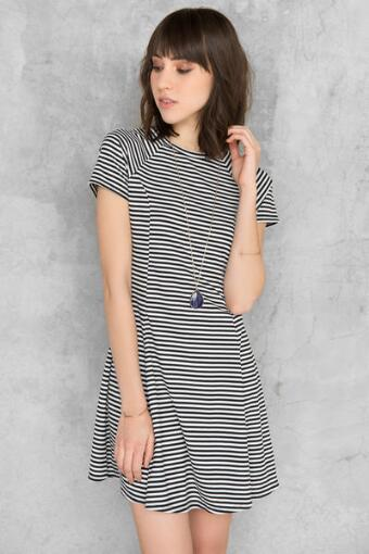 Kimberlin Striped Dress