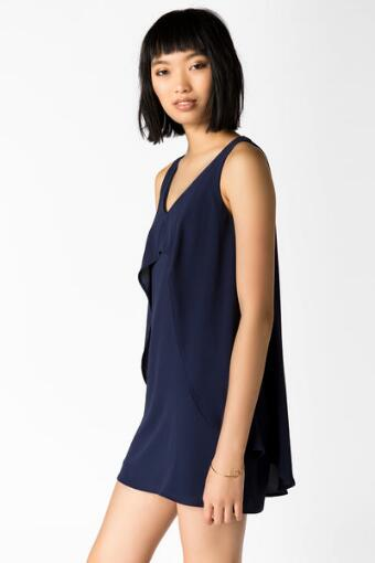 Leanna Solid Shift Dress
