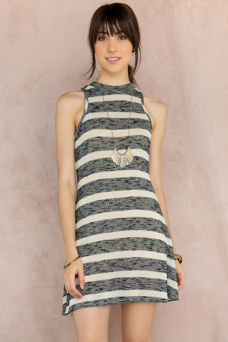 Cypress Striped Knit Dress