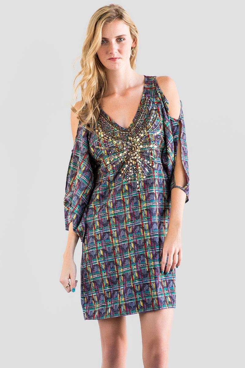 Kincaid Cold Shoulder Dress