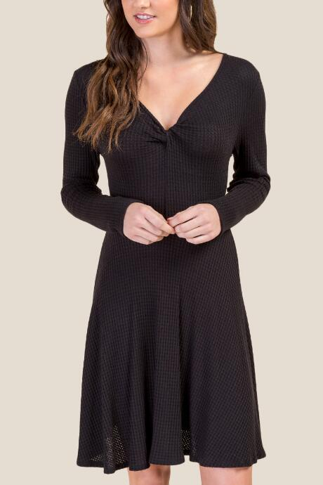 e18cbf1d59ec Cecilia Knot Front Dress