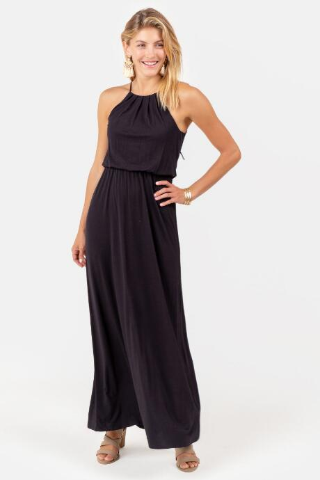 f2e039fbc30d Flawless Knit Maxi Dress in Black