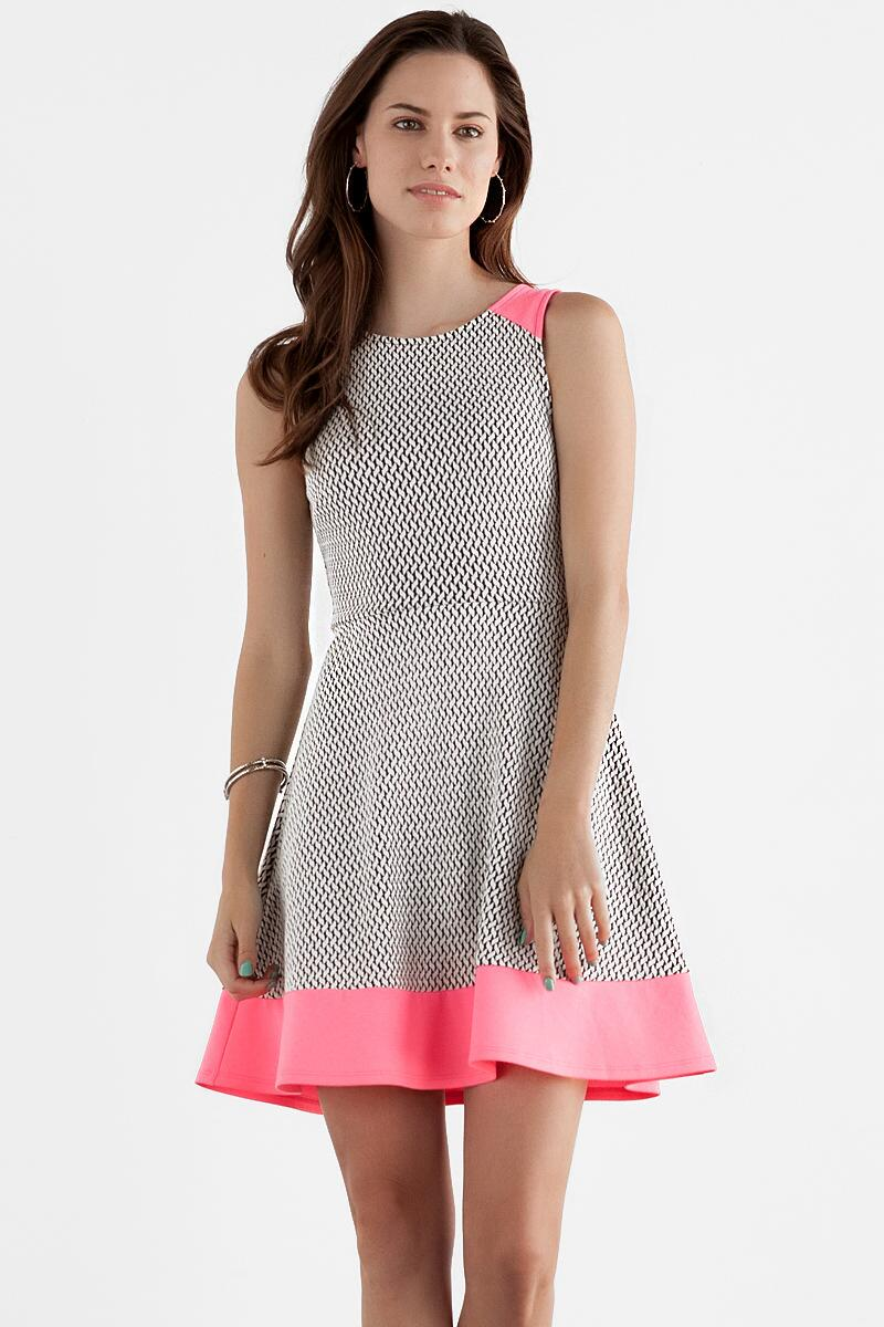 Evelyn Textured Dress