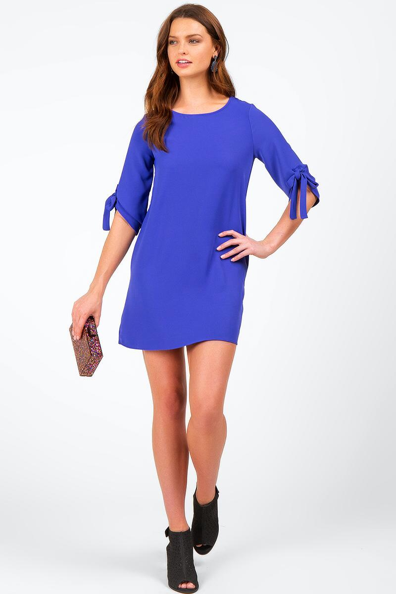 Perla Elbow Tie Dress