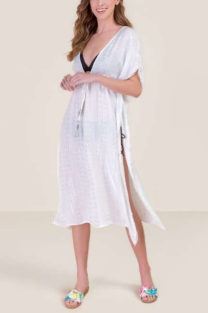 Erica Lurex Swimsuit Cover-Up