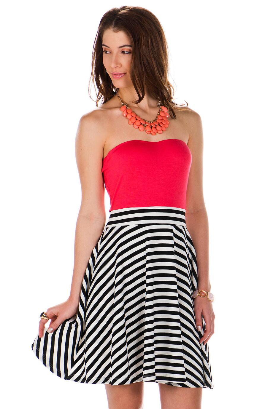 Alton Road Strapless Dress