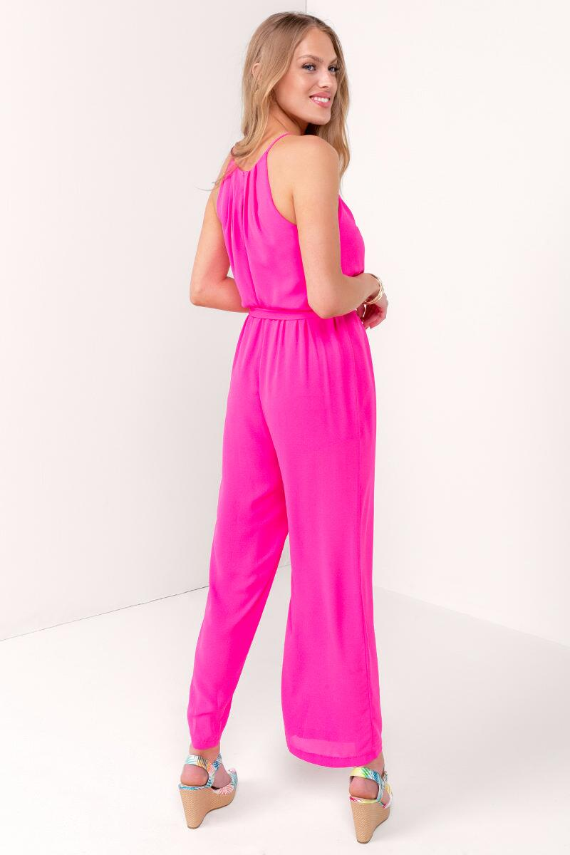 Flawless Solid Jumpsuit-  npink-cl2