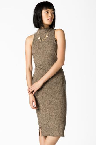 Yana High Neck Dress