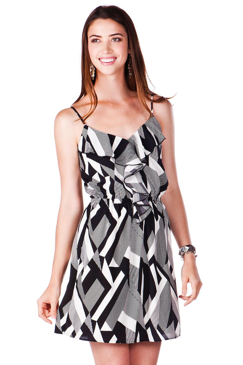 La Vista Printed Dress