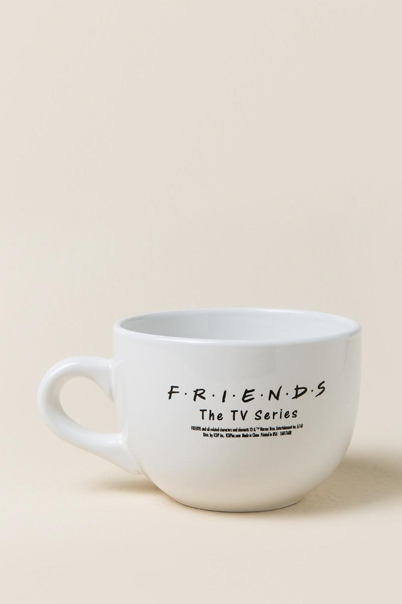 FRIENDS the TV Series Central Perk Soup Mug-  white-clalternate