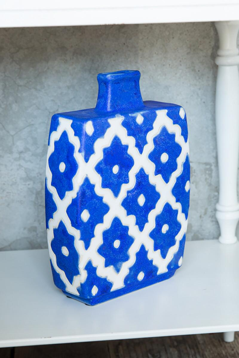 Large Cobalt Blue Vase