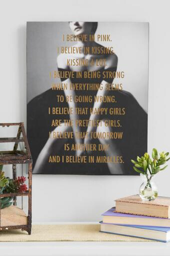 I Believe Canvas Wall Art