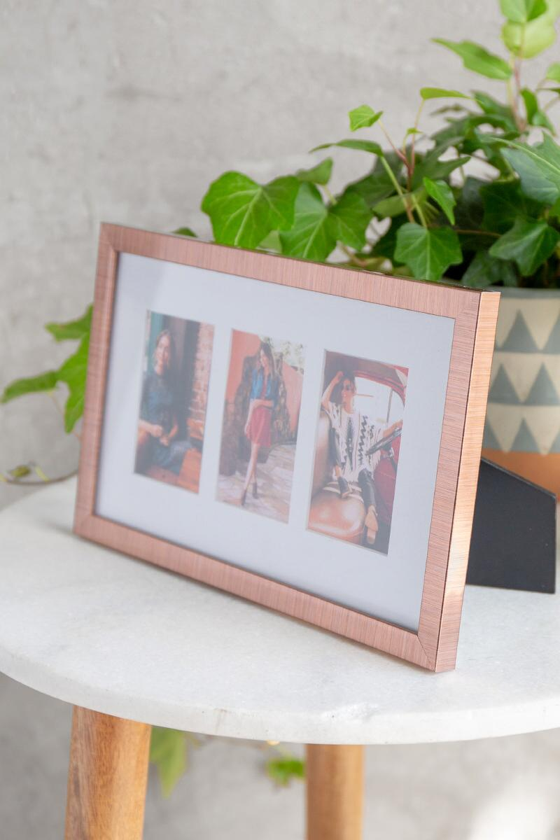 Copper Instapix 3 Photo Frame-  gift-clalternate