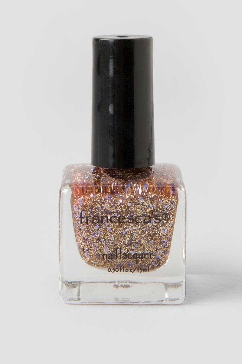 #Blessed Gold Glitter Nail Lacquer