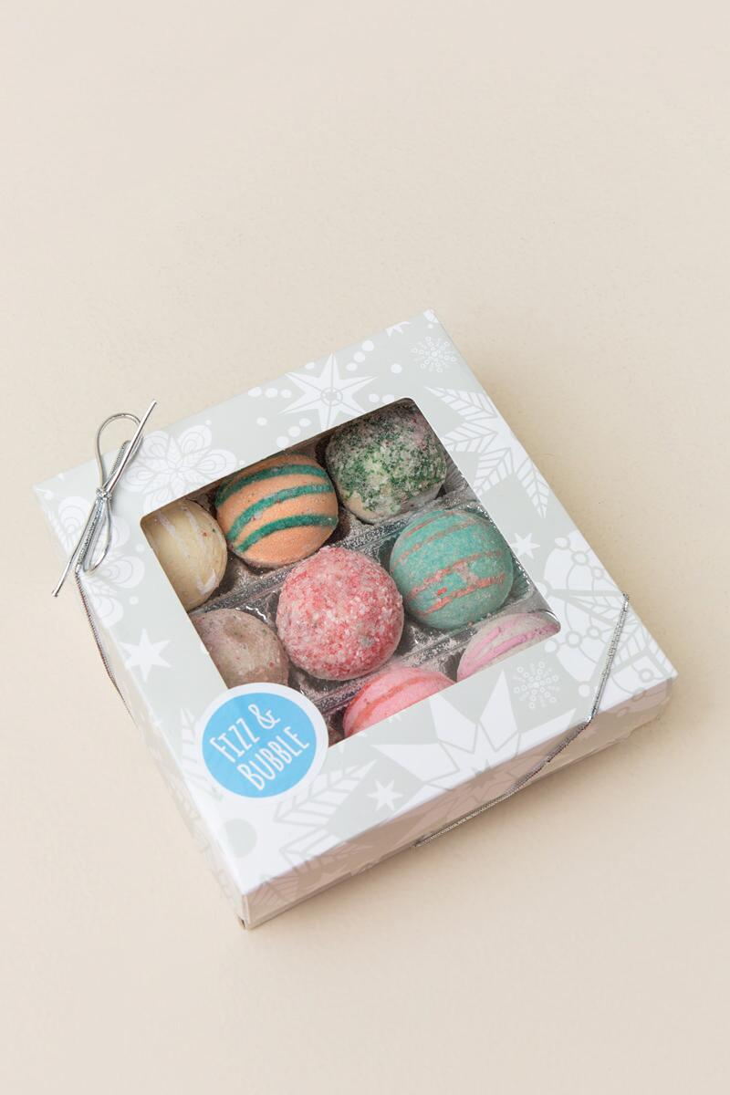 Holiday Assorted Truffle Bath Bombs-  gift-cl