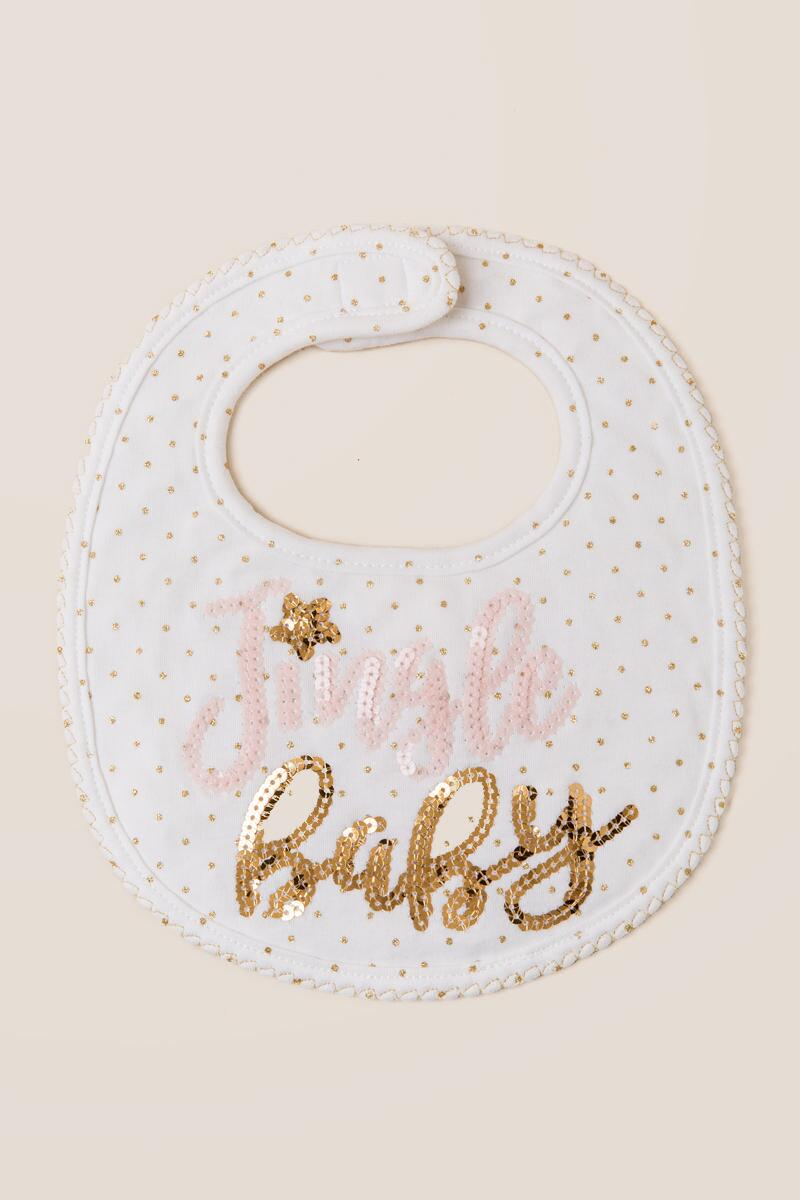 Jingle Baby Sequin Bib