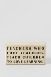Teachers Mini Plaque