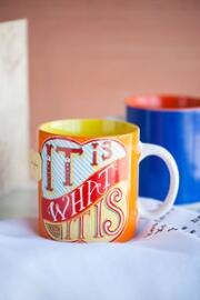 It is What It is Stoneware Mug
