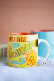 You Are My Sunshine Stoneware Mug