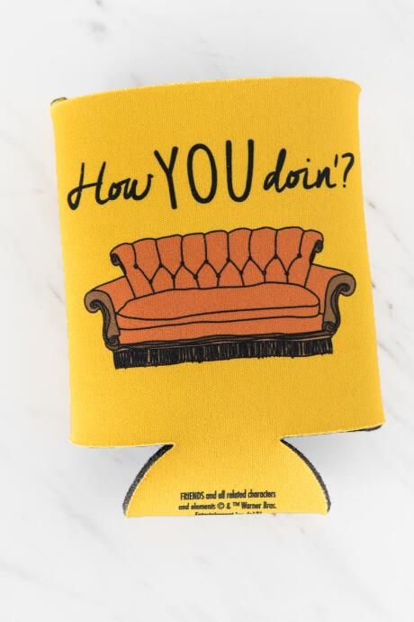 Friends How You Doin'? Couch Coozie