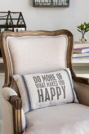 Makes You Happy Decor Pillow